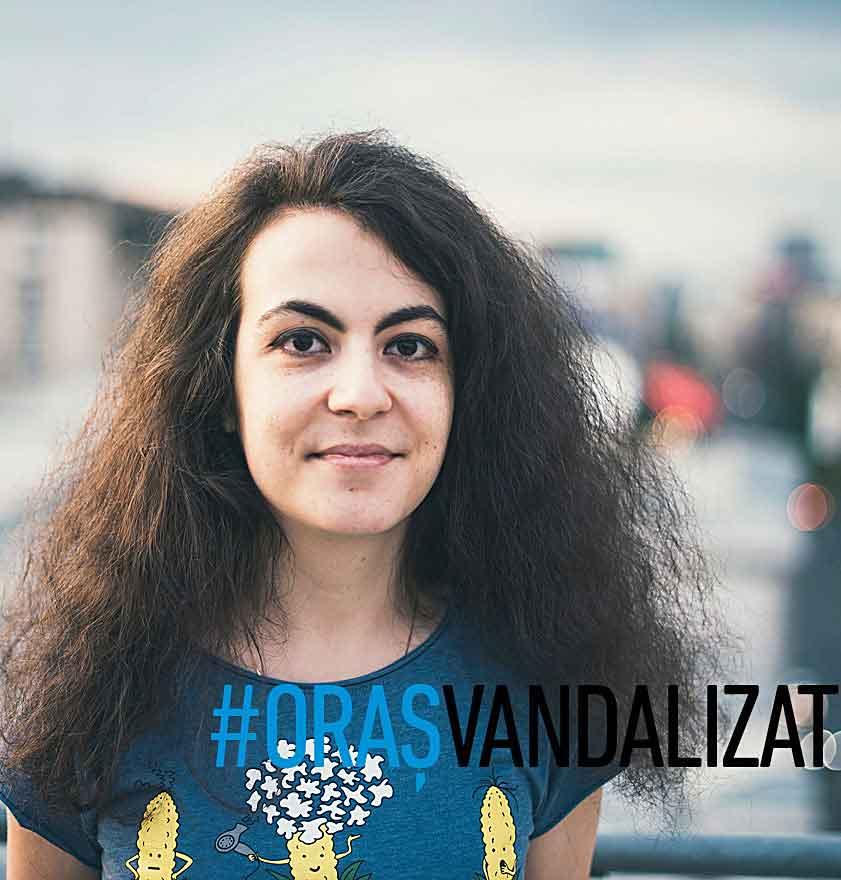 # Oraș vandalizat – 3 întrebări, primele 4 puncte de vedere: Andreea Apostu, Cătălin Alb, Ruxandra Balaci, Maria Bălan. (I)