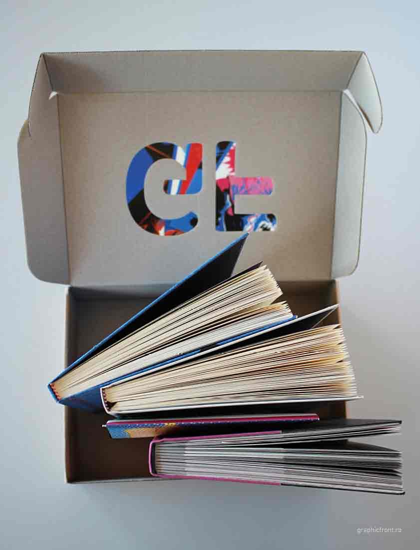 10 Pachete cu cărți Graphic Front. 3 cărți + 1 afiș + 5 cărți poștale.