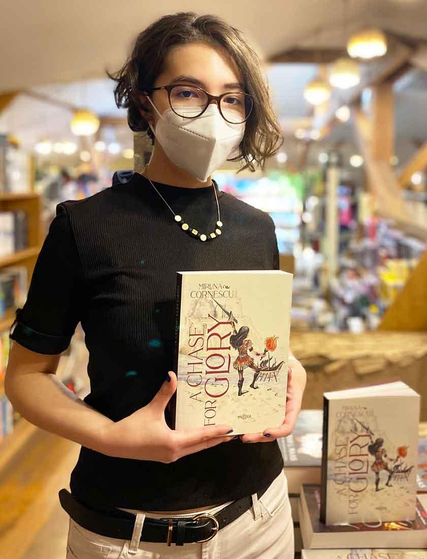 A Chase for Glory – povestea legendarei Jade Kalamata. De Miruna Cornescu.