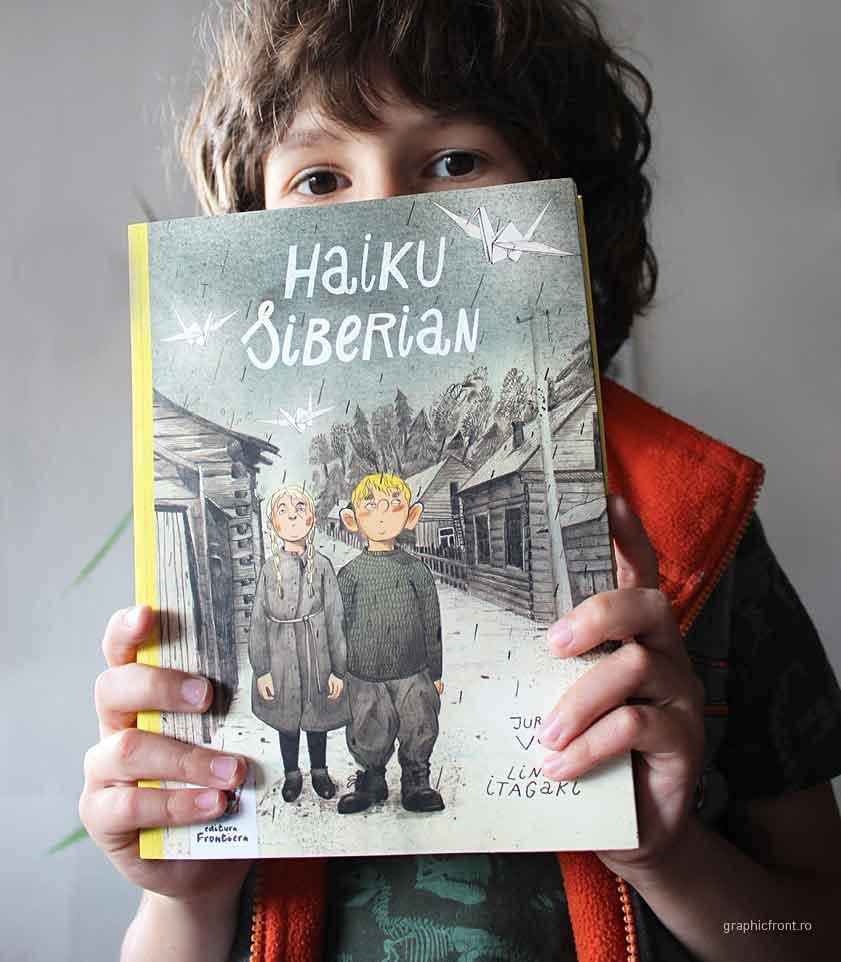 Haiku Siberian – o carte infernal adorabilă. La Editura Frontiera.