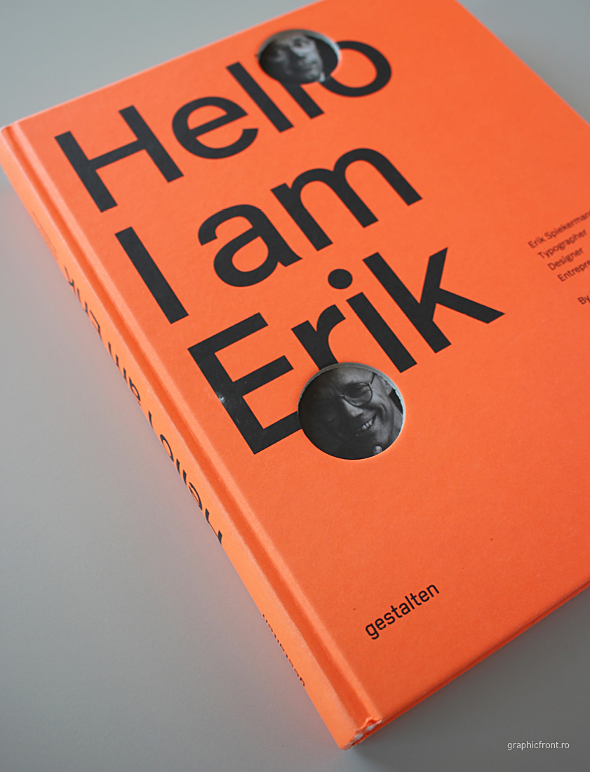 Erik Spiekermann, more than 30-year career in a book @ #Graphic Front Library