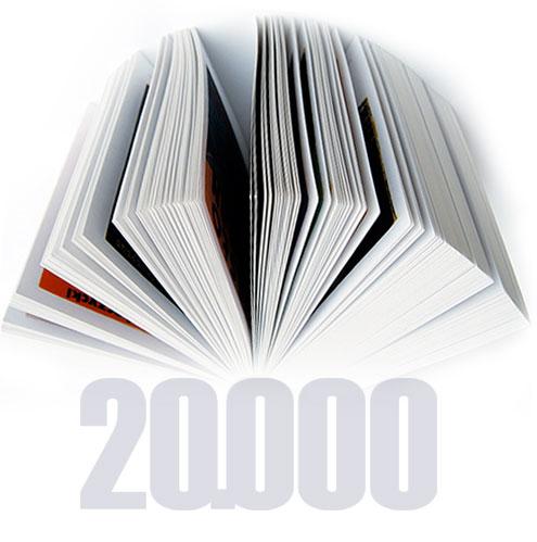Infocarte.ro  ajuns la 20 000 de titluri! Numărătoarea continuă.
