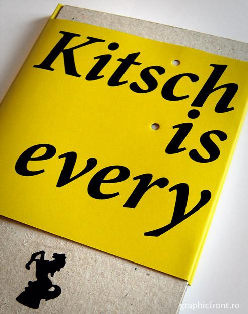 Kitsch is Everywhere - premiul I la concursul Cele mai frumoase cărți din România