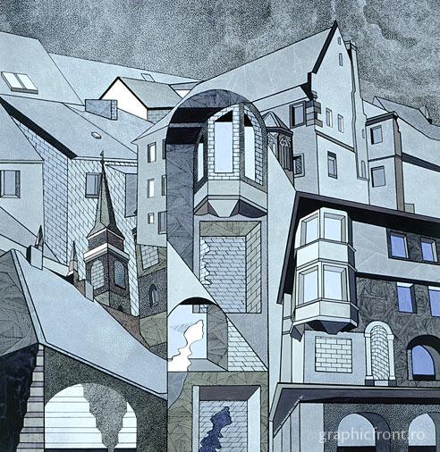 Antal Vásárhelyi - Arhitectură Cultică. A treia expoziție Uj Kriterion