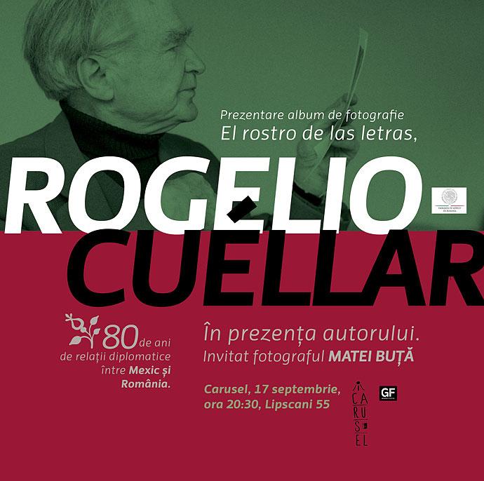 Rogelio Cuéllar la Cărturești Carusel, Joi, 17 septembrie