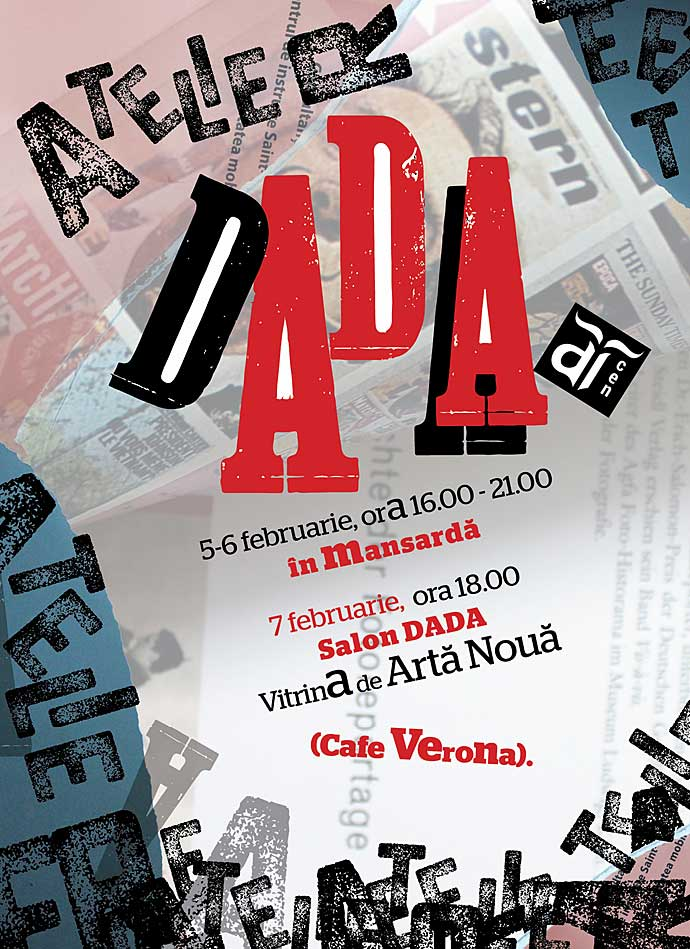 ARCEN transformă zilele de 5, 6, 7 februarie într-un sfârșit de săptămână DADA.