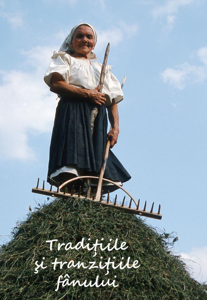 Expoziție Tradițiile și tranzițiile fânului. 20 iulie - 16 august 2015 Sala ACVARIU, Muzeul Național al țăranului Român