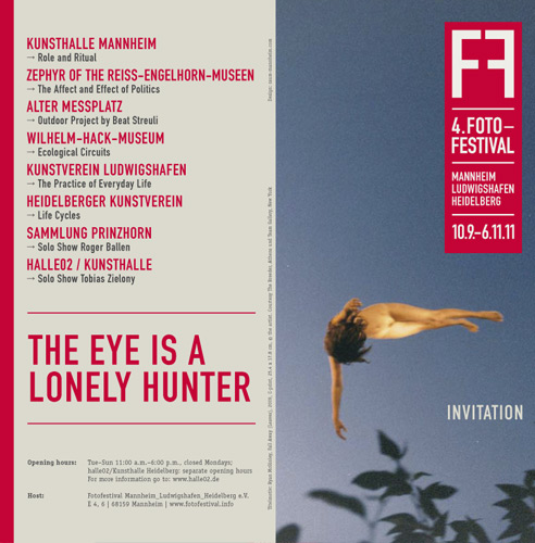 Festival de fotografie.THE EYE IS A LONELY HUNTER: IMAGES OF HUMANKIND.