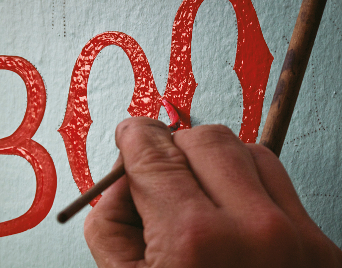 MAKE SIGNS, NOT WAR! Sign Painters. The Movie.