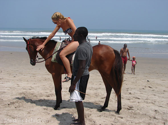 întâlnirea cu oceanul.  (Ghana. Episodul VII)