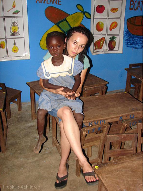 Şcoala albastră şi visul multicolor. (Ghana. Episodul IX)