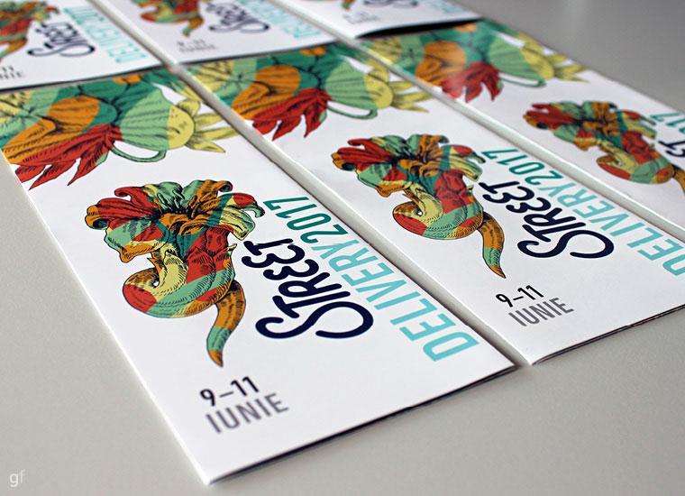 Ilustrație și graphic design la Street Delivery 2017, București