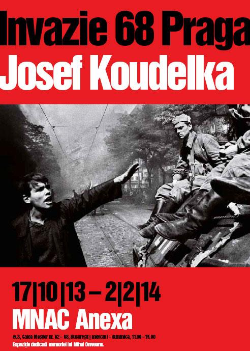 Invazie 68 Praga, Josef Koudelka - Expoziție de fotografie 17.10.2013 - 23.02.2014, MNAC Anexa