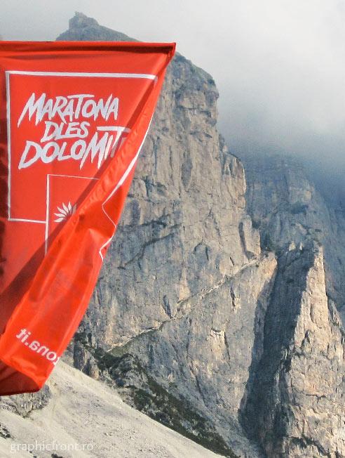 Maratona dles Dolomites. 1 iulie 2012. 9000 participanți