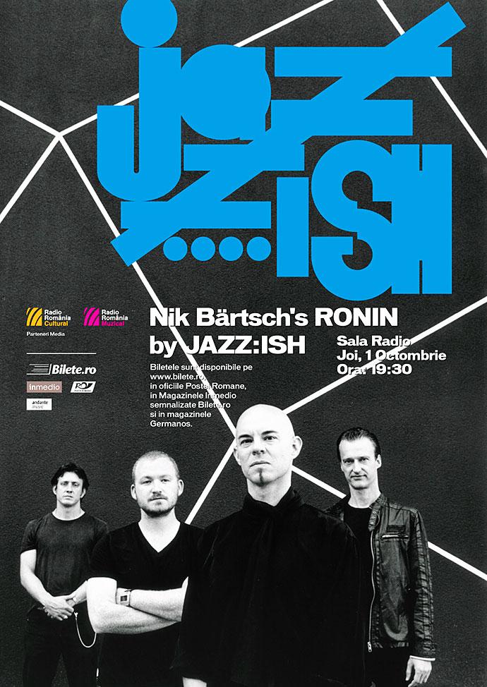 Samuraiul Funk - mâine, 1 octombrie, ora 19.30, la Sala Radio din București