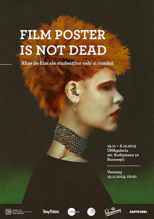 Film Poster is Not Dead - Expoziție de afișe de film ale studenților cehi și români