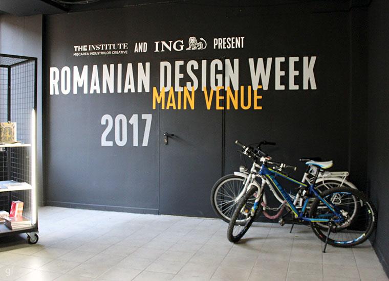 Peste 4000 de mp. cu cele mai bune proiecte - Romanian Design Week 2017, Main Venue, Strada Cobălcescu nr. 45