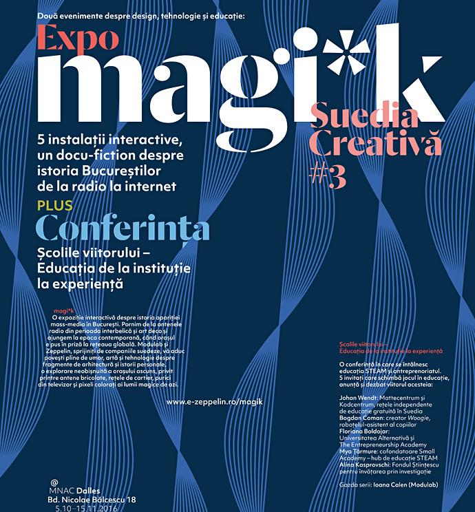Deschidem Suedia Creativă #3 cu Magi*k și școlile Viitorului