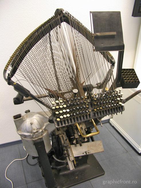 Tipografia fierbinte. Partea I - Linotype