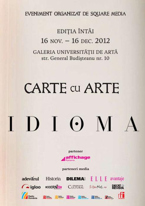 CARTE CU ARTE - începe azi, 19 noiembrie, la UNAgaleria