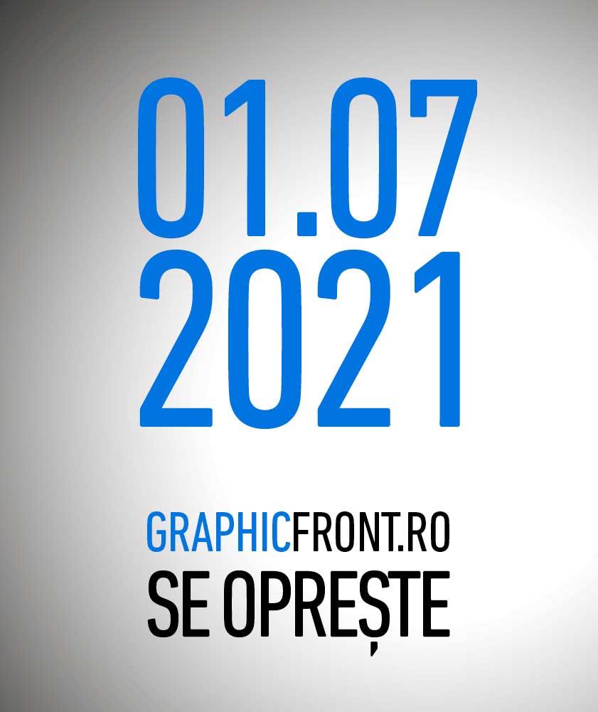 Platforma Graphic Front se oprește